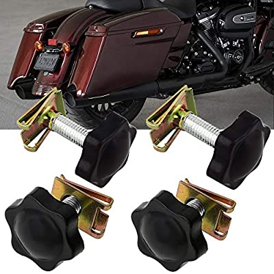 Hard Saddlebags Locks Theft Deterrent Saddlebag Mounting Kit for Harley Touring 1993-2020: Automotive