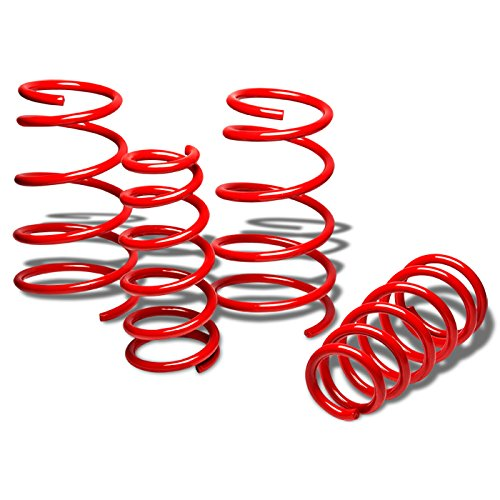 (For Accent/Rio Suspension Lowering Spring (Red) - MC JB)