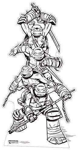 Star Cutouts - stscc8 - Figura Gigante - Tortuga Ninja - a ...