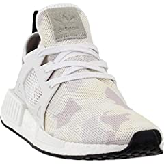 This XR1 takes the essential NMD runner to the next level with a TPU midfoot cage and molded EVA midsole inserts. This trail-ready colorway features a subtle duck camo pattern in white and gray on the stretch-mesh upper. Suede accents on the ...