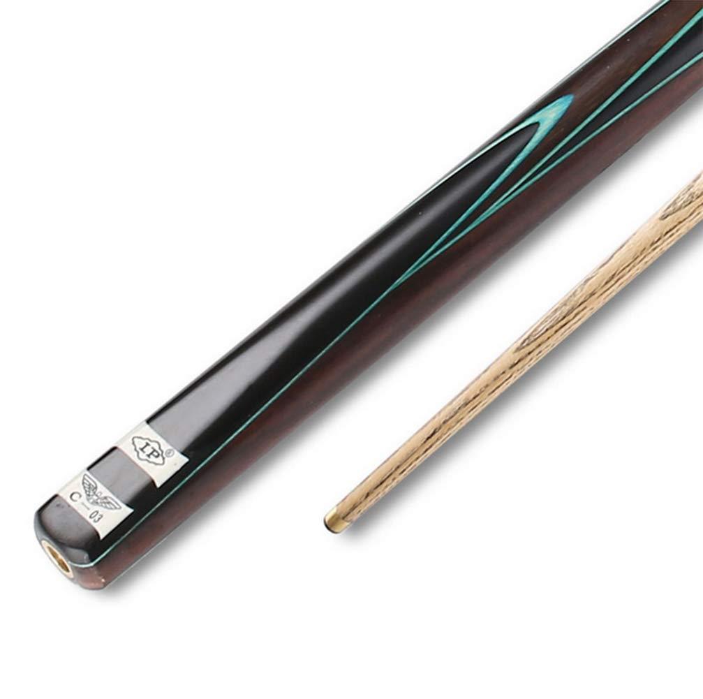 Taco de Billar c-03 Snooker Cabeza pequeña Negro Americano 8 Ocho ...