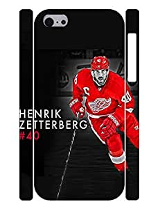 Superb Series Cell Phone Case Outstanding Man Ice Hockey Athlete Design Solid Case Cover for Iphone 5c (XBQ-0204T)