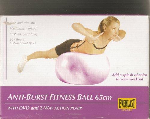 Everlast Burst-resistant Fitness Ball by Everlast