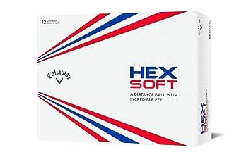 Amazon.com: Callaway Hex Soft - Pelotas de golf: Sports ...