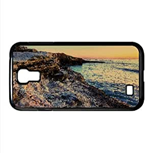 Rocks of Sunset Cliffs Watercolor style Cover Samsung Galaxy S5 I9600/G9006/G9008 (California Watercolor style Samsung Galaxy S5 I9600/G9006/G9008