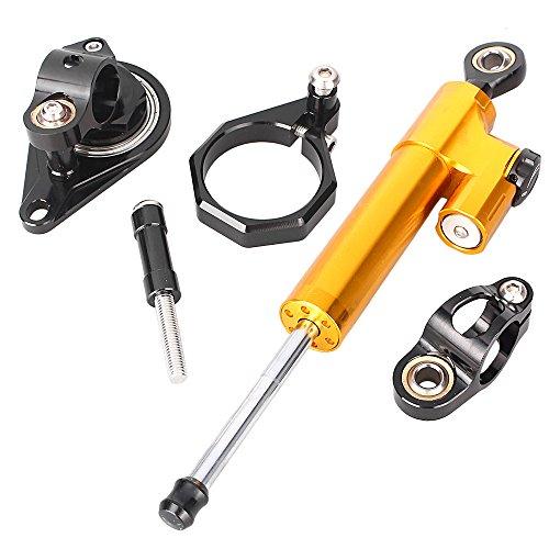 Gsxr750 Stabilizer (GZYF Steering Damper Stabilizer for Suzuki GSXR600 GSXR750 2006 2007 2008 2009 2010)