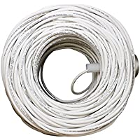 Orbit RG6U-Q-WH Quad Shield RG6U Coaxial Cable, 1Ghz, RG-6 Coax, White, 500-Feet