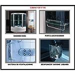 Bagno-Italia-Cabina-e-Vasca-Idromassaggio-Box-Doccia-SAUNA-Cromoterapia-135×135-o-150×150-full-optional-I