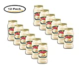 PACK OF 12 - Bertolli Carbonara Sauce, Smokey Bacon, 15 Oz Bottle