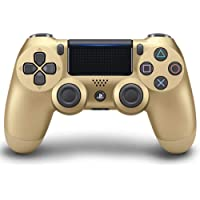 LUOLIN Controller Wireless DualShock 4 per Playstation 4-Gold