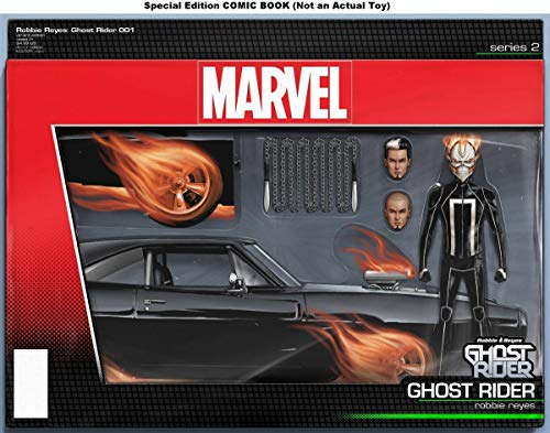 Ghost Rider (Issue #1 -Action Figure Variant by John Tyler Christopher) Comic – January 1, 2016