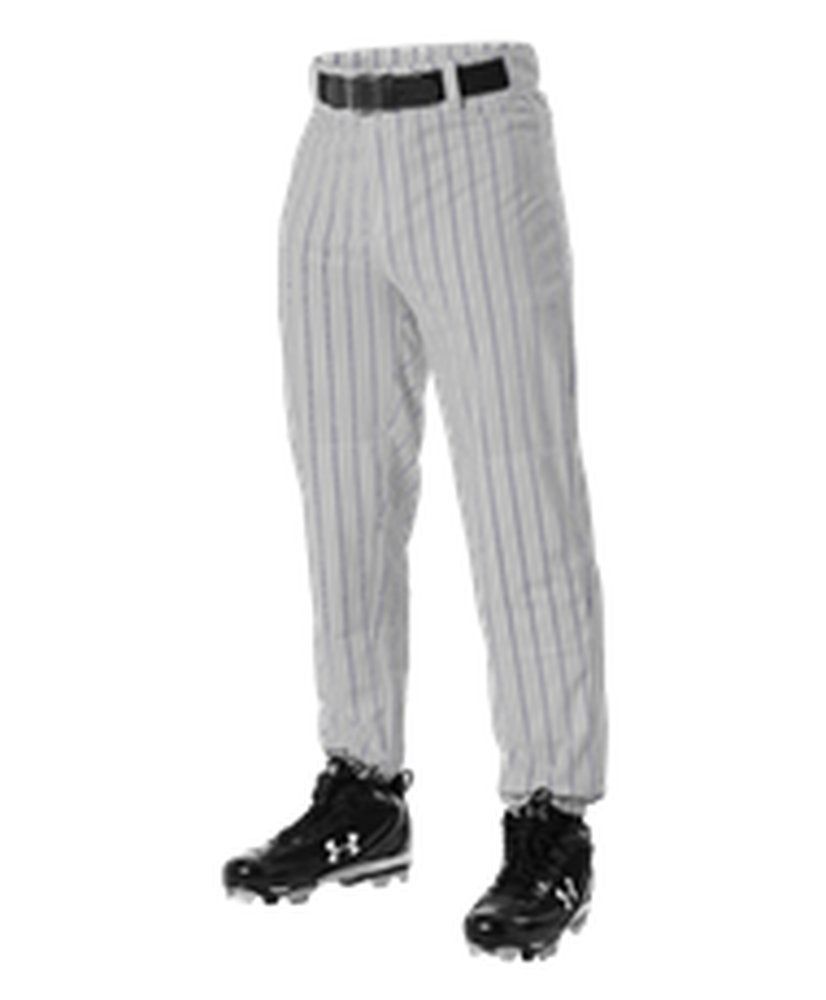 Alleson Athletic PANTS ボーイズ B071GT5933 3X Grey, Navy Grey, Navy 3X