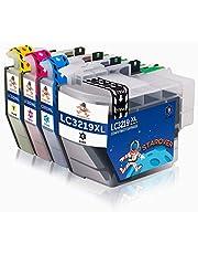 STAROVER 4-Paquete LC3219 XL LC3219XL Cartuchos De Tinta Repuesto para Brother LC3219XL Compatible con Brother MFC-J5330DW MFC-J5335DW MFC-J5730DW MFC-J5930DW MFC-J6530DW MFC-J6930DW MFC-J6935DW