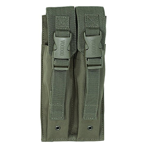 VooDoo Tactical Men's Mp5 Mag Pouch, Olive Drab