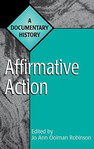 Affirmative Action: A Documentary History (Primary Documents in American History and Contemporary Issues)