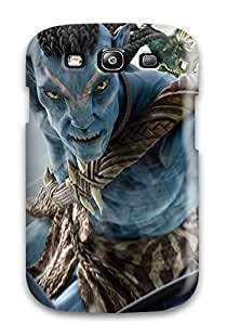 7364287K43690479 Forever Collectibles Avatar The Game Screen Hard Snap-on Galaxy S3 Case