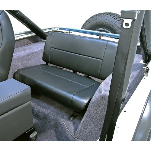 Rugged Ridge 13461.01 Standard Black Rear Seat