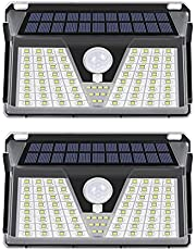 SALCAR Solarlampen voor buiten met bewegingsmelder