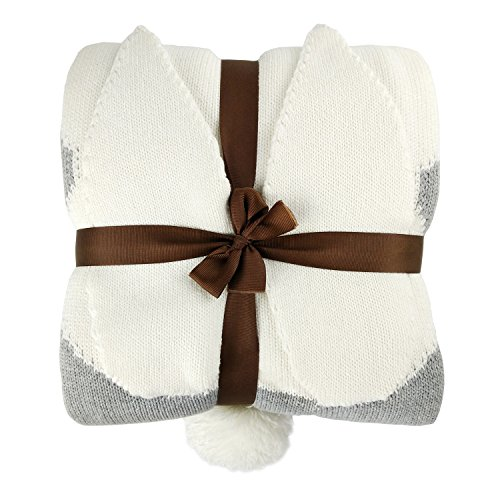 - Zebrum Knitted Cotton Blanket, 30