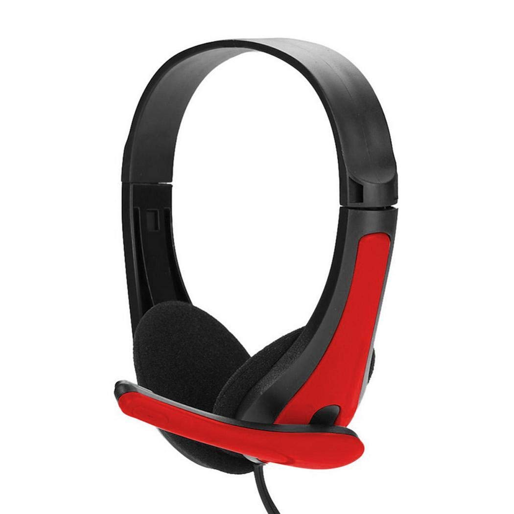 SummerRio Cuffie Stereo da 3,5 mm per Computer Cuffie per Computer Gamer Cuffie con Microfono Cuffie Bluetooth