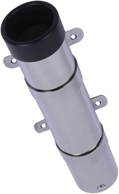 Side Mount Fishing Rod Holder 10 257mm PVC Liner – Strap Mount 100 MARINE Quality