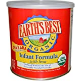 Earth's Best Infant Form Organic DHA & ARA (4x23.2 Oz)