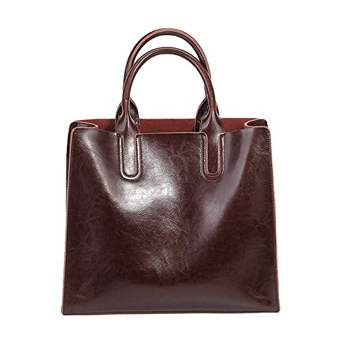 Elegant handle body Leather Fashion Women Coffee Dissa Lf Handbag Top 1085 Design Shoulder Bag Cross A7nqtUz4