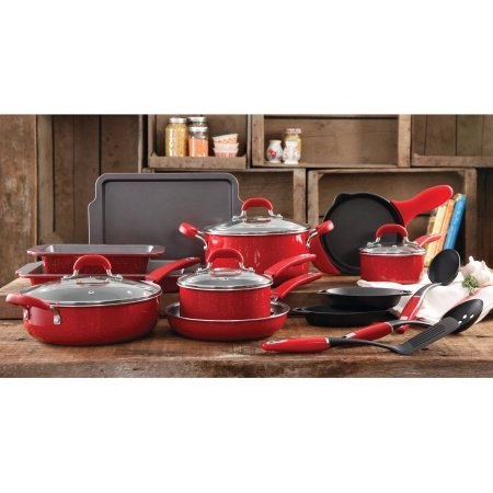 the-pioneer-woman-vintage-speckle-20-piece-cookware-combo-set-red