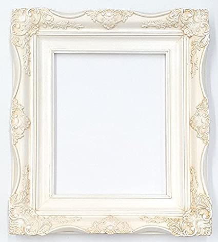 Amazoncom 4 Vintage Ornate Baroque French White Picture Frame