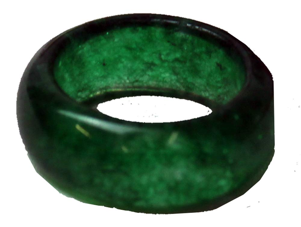 Asian Zing Size 8.5 Jade Colored Ring