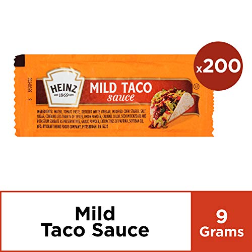 (Heinz Mild Taco Sauce (0.31 oz Packets, Pack of 200))