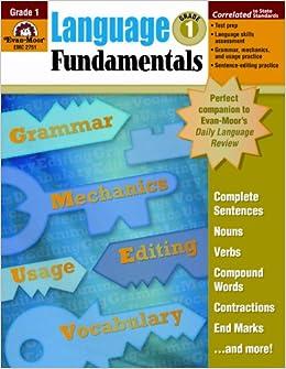 Language Fundamentals, Grade 1: Evan Moor: 9781596731615