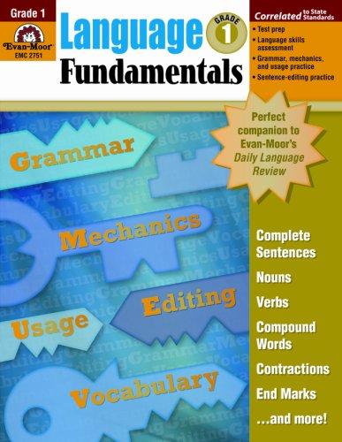 Language Fundamentals, Grade 1 by Brand: Evan-Moor
