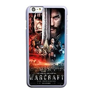 Custom made Case,World of WarCraft-movie poster Cell Phone Case for iPhone 6 6S 4.7 inch,White Case With Screen Protector (Tempered Glass) Free S-7263414