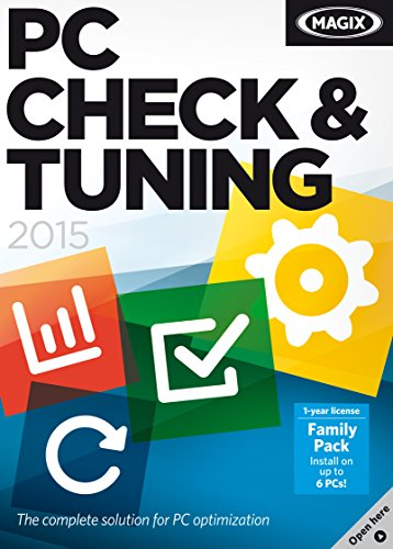 MAGIX PC Check & Tuning 2015 [Download] by MAGIX
