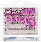 Violet Purple Strawz Connectable Build Your Own Straws Construction Kit - Fun Modular Interlocking Educational Toys