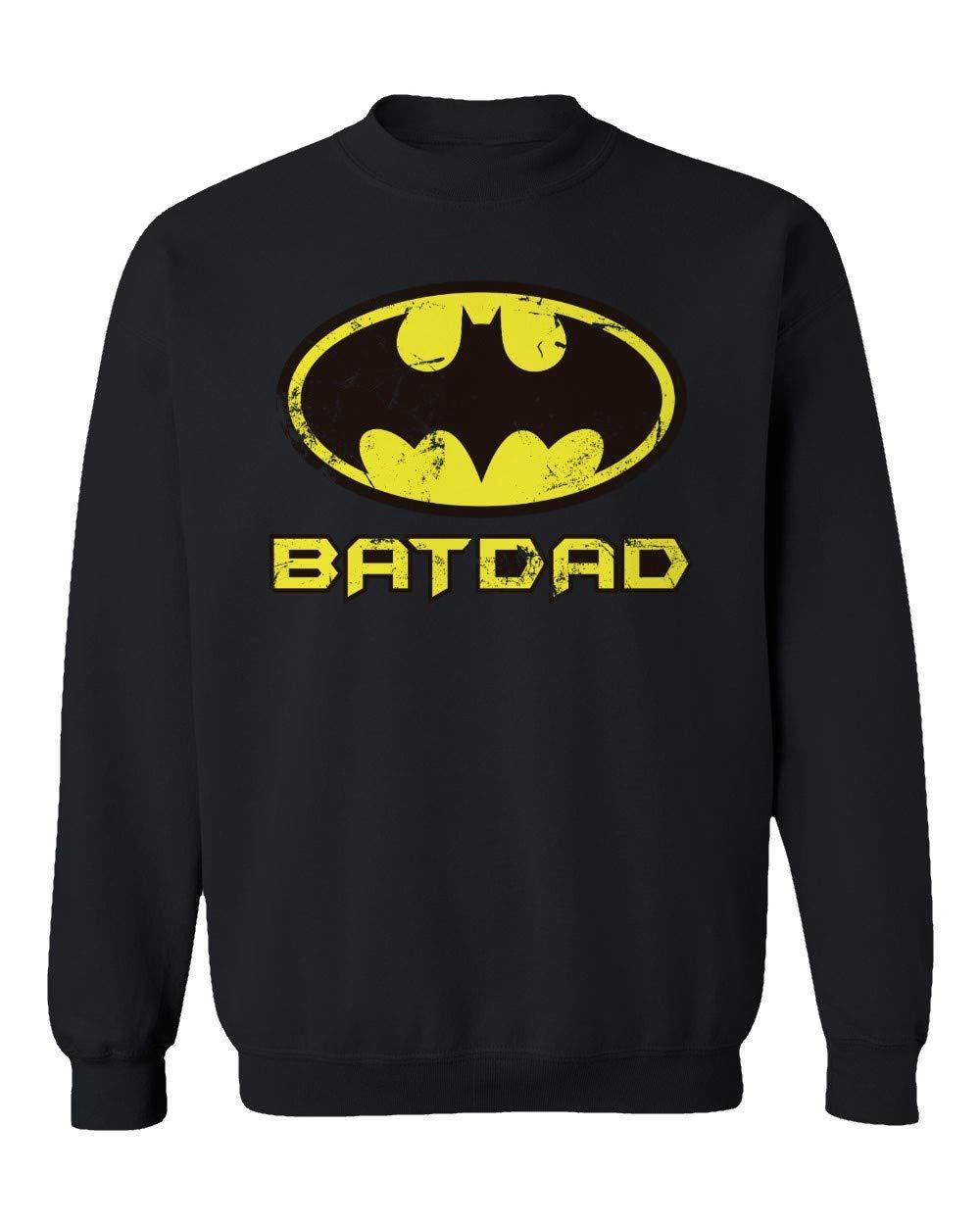 Bat Dad Batman Sweater Unisex Crewneck Shirts