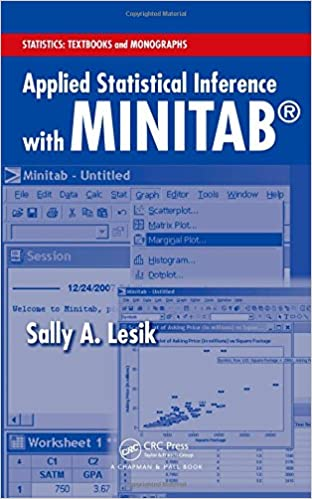 Amazon applied statistical inference with minitab statistics applied statistical inference with minitab statistics textbooks and monographs 1st edition fandeluxe Gallery