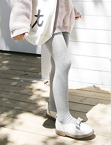Hecho en algodón su tacto cómodo y sauve lo hacen ideal para todo tipo de ocasiones Leotardos de canalé lisos con poco elastán son adapta de la pierna, para más movimiento Material: 80% Algodón, 15% Nylon, 5% Elastano