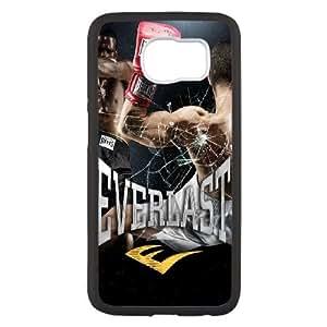 Everlast D4R8He Funda Samsung Galaxy S6 caja del teléfono celular Funda caja del teléfono Negro R2B9QV funda activo genérico