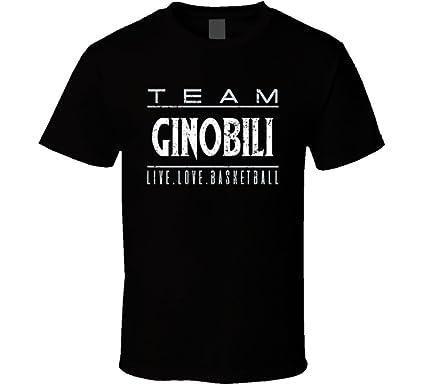 low priced b85cf c9a8a Amazon.com: Manu Ginobili Live Love San Antonio Basketball ...