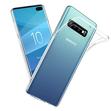 Qoosea Samsung S10 Plus Funda Teléfono Carcasa Trasera Cover ...