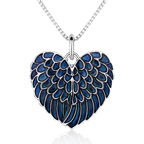 Angel Wing Mood Necklace Color Changing