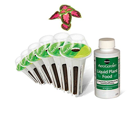 Aerogrow 3 Pod - AeroGarden Colorful Coleus Seed Pod Kit (6-Pod)