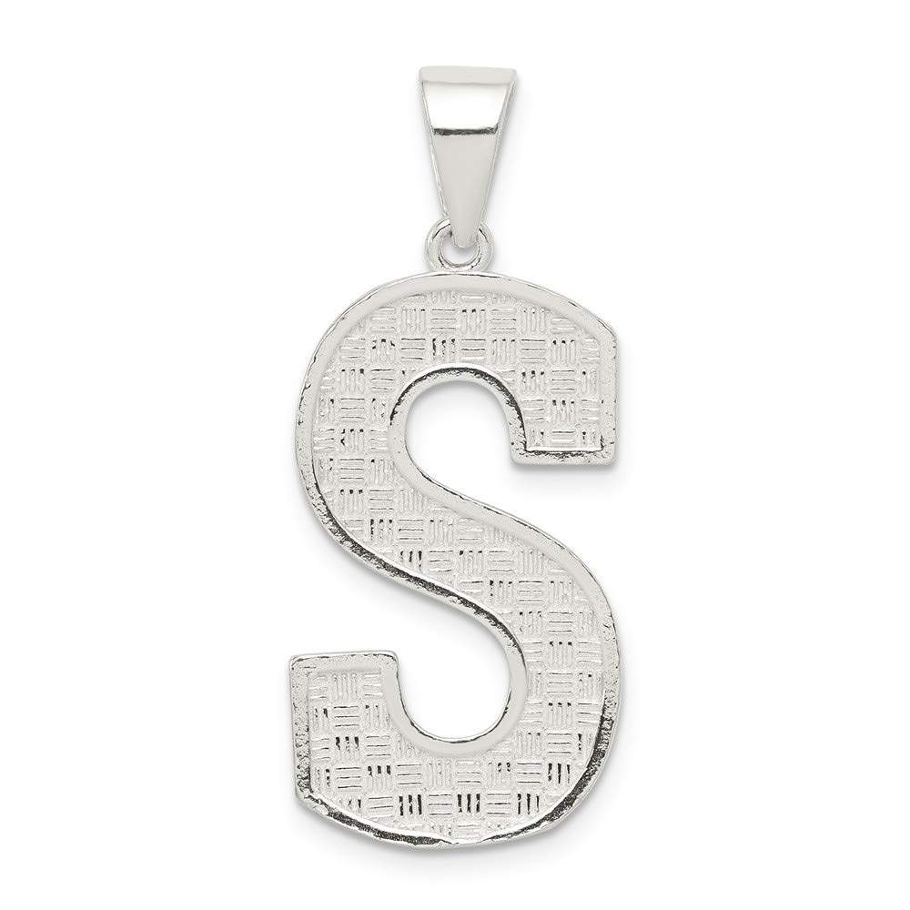 Sterling Silver Initial S Charm
