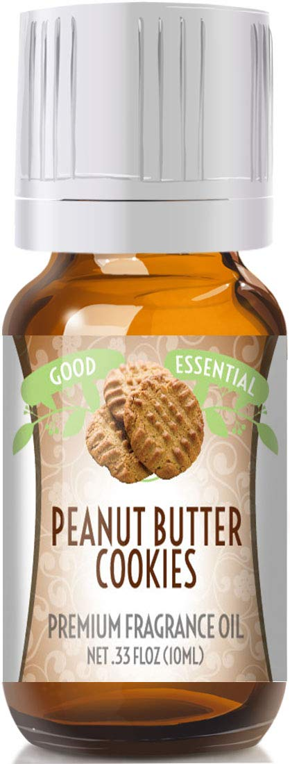 Peanut Butter Cookies Scented Oil by Good Essential (Premium Grade Fragrance Oil) - Perfect for Aromatherapy, Soaps, Candles, Slime, Lotions, and More!