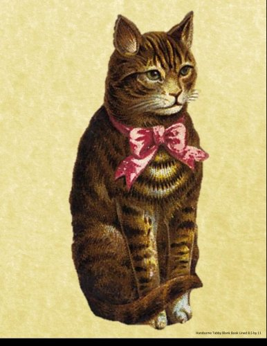 Read Online Handsome Tabby Blank Book Lined 8.5 by 11: 8.5 by 11 inch 100 page lined blank book suitable as a journal, notebook, or diary with a vintage ... alternative for cats with feline leukemia. PDF