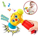 Best Other Toys For 12-18 Months - VATOS Baby Toys Light& Musical Baby Hammer Toy Review