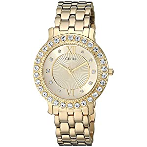 GUESS Women's Stainless Steel Crystal Watch