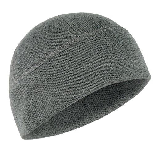 Warm Winter Beanie Hat - Military Tactical Outdoor Sport - Polartec Thermal Pro Fleece by 281Z (Medium, Graphite)